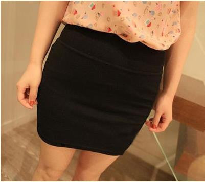 Short Solid Skirt