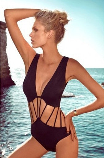 String Details Swimsuit