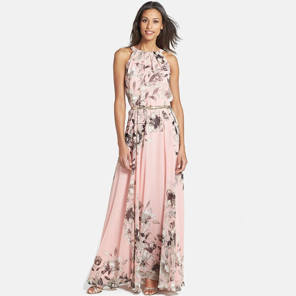 Best Seller! Chiffon Floral Maxi Dress