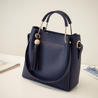 Designer Faux Leather Shoulder Bag