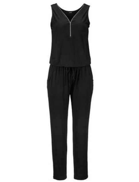 Zipper Front Jumpsuit