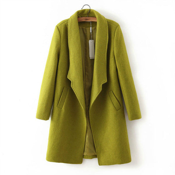 Solid Wool Coat
