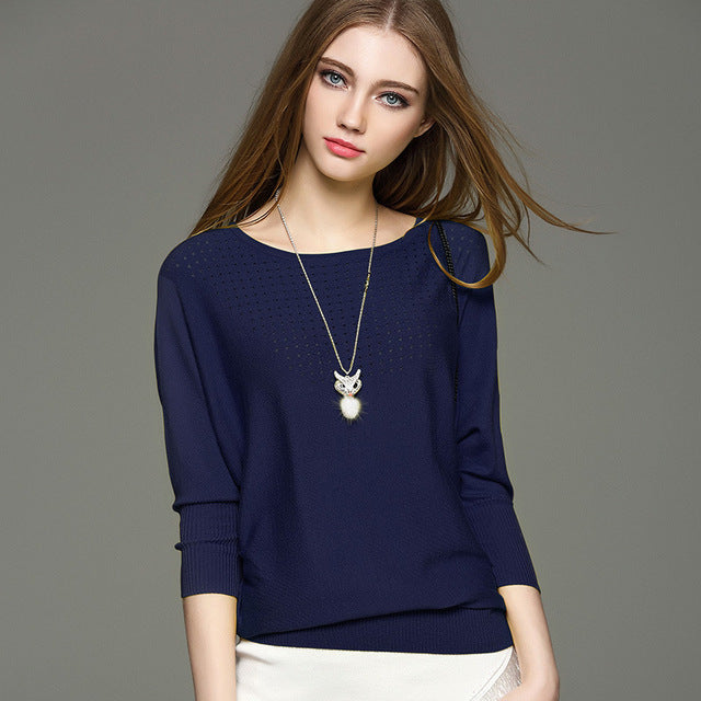 Dolman Sleeve Light Weight Sweater