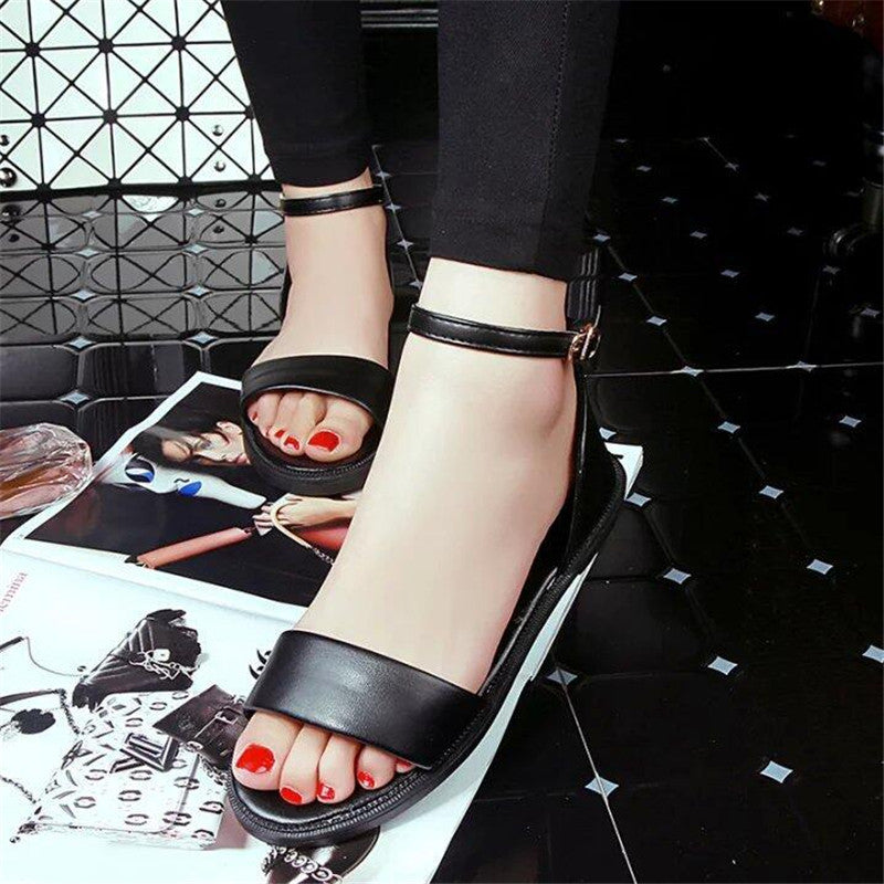 Thick Strap Sandals
