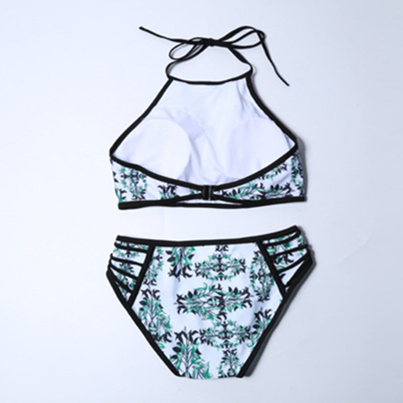 Bamboo Printed Swimwear Set