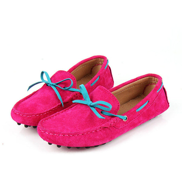 Moccasins Flat with Bowtie