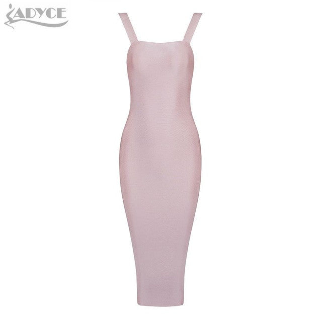Bodycon Sleeveless Solid Dress