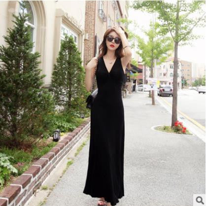 Sleeveless Basic Maxi