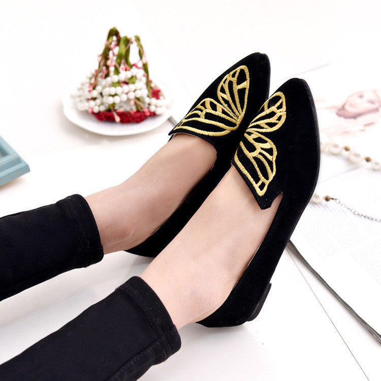 Butterfly Loafers