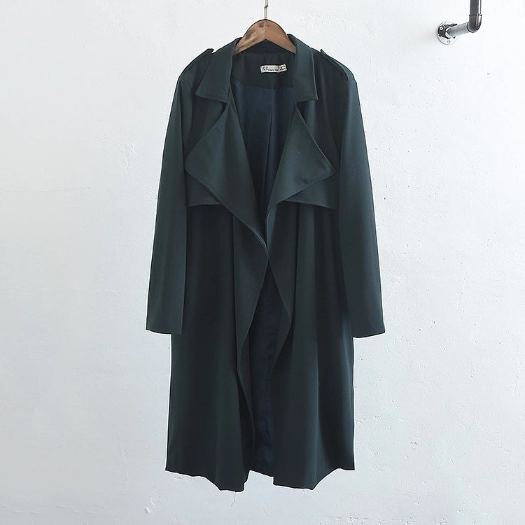 Light Weight Drape Coat