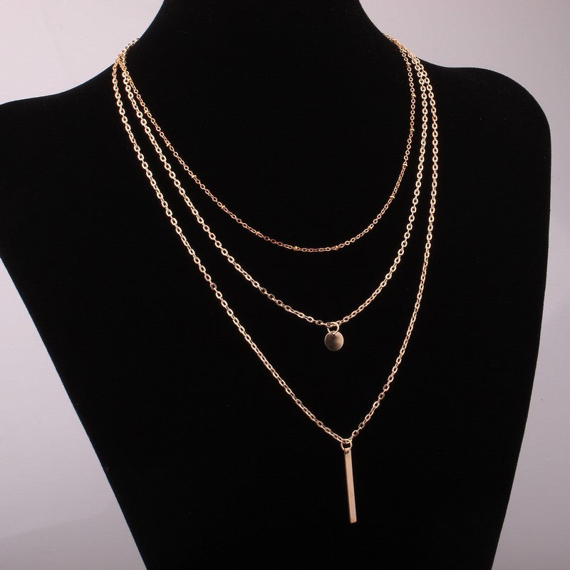 Multi Layers Necklace Chains
