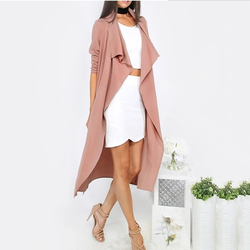 Long Light Weight Trench Coat