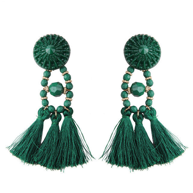 Tassel Long Earring