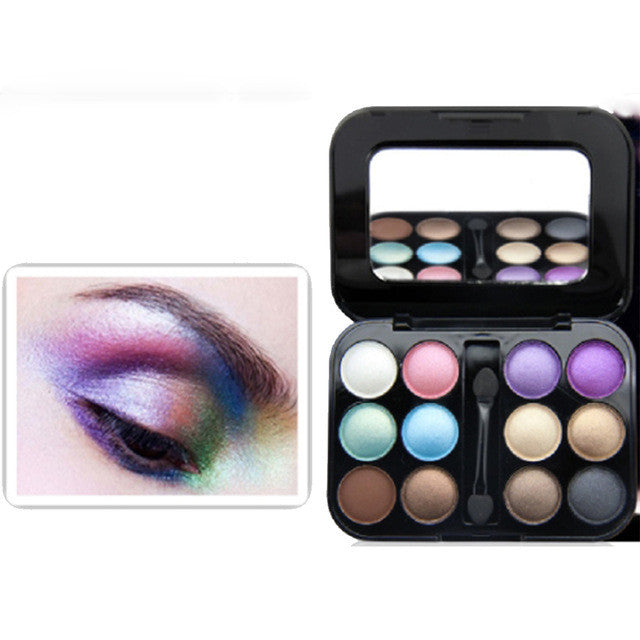 12 Shades Eyeshadow Palette