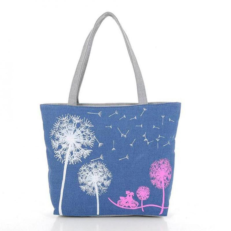 Dandelion Printed Shoulder Bag