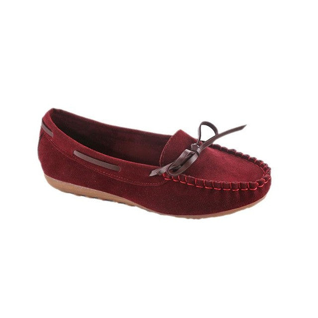 Lace Moccasin Shoes