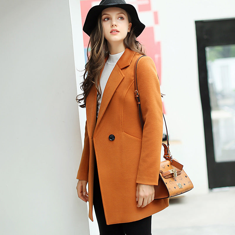 Lightweight Wool Coat