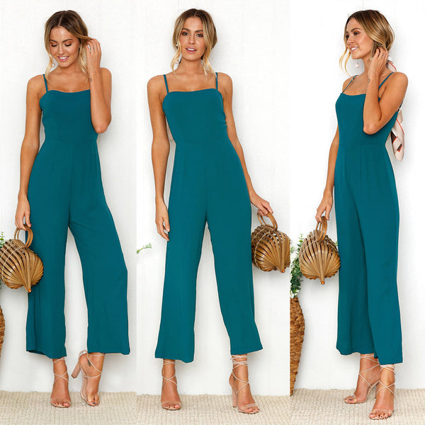 Ankle-Length Camisole Jumpsuit