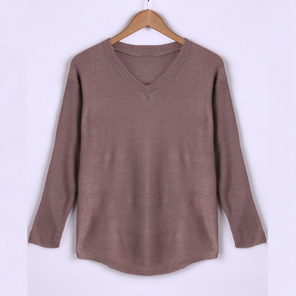 Best Seller! Knitted Heavy Long Sleeve Sweater
