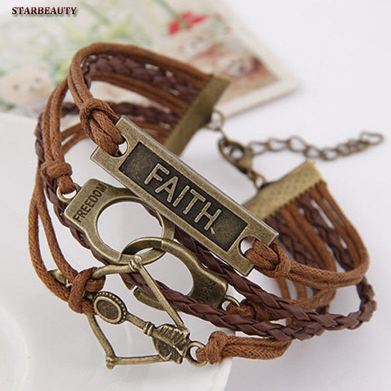 Handcuff Multi-Layer Bracelet