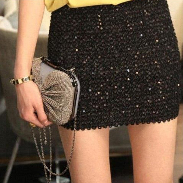 Sequins Short Skirts