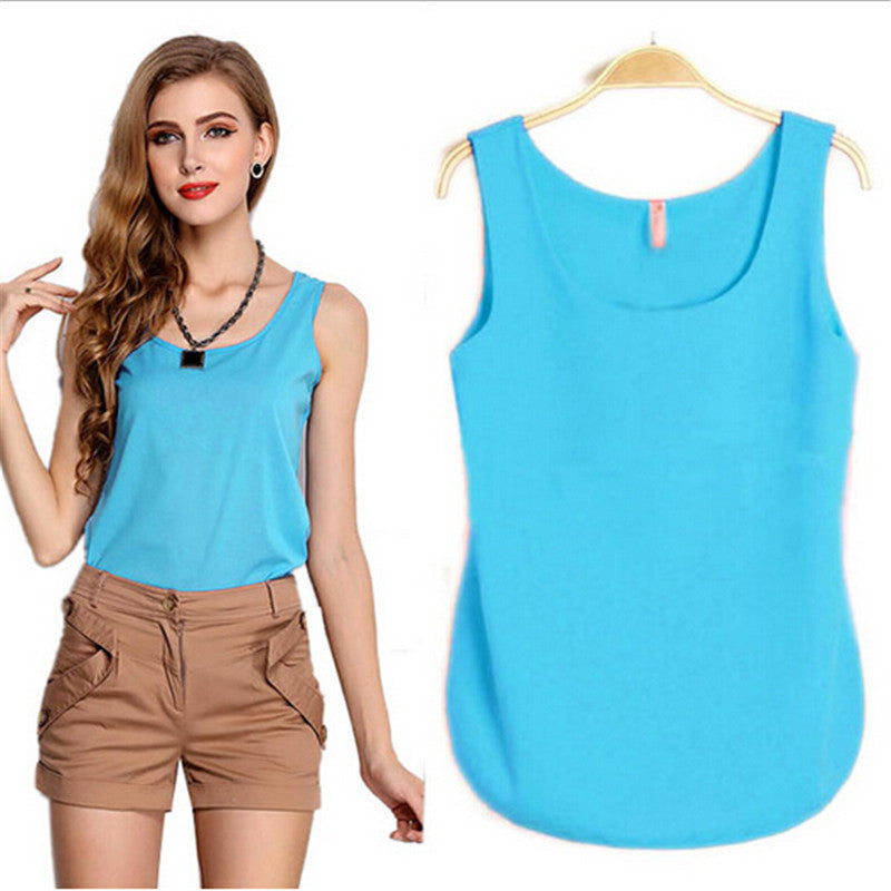 Casual Sleeveless Tanks