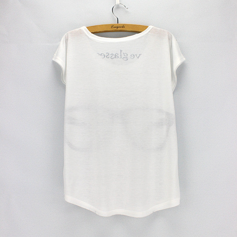 Printed Short Sleeve Summer Tee