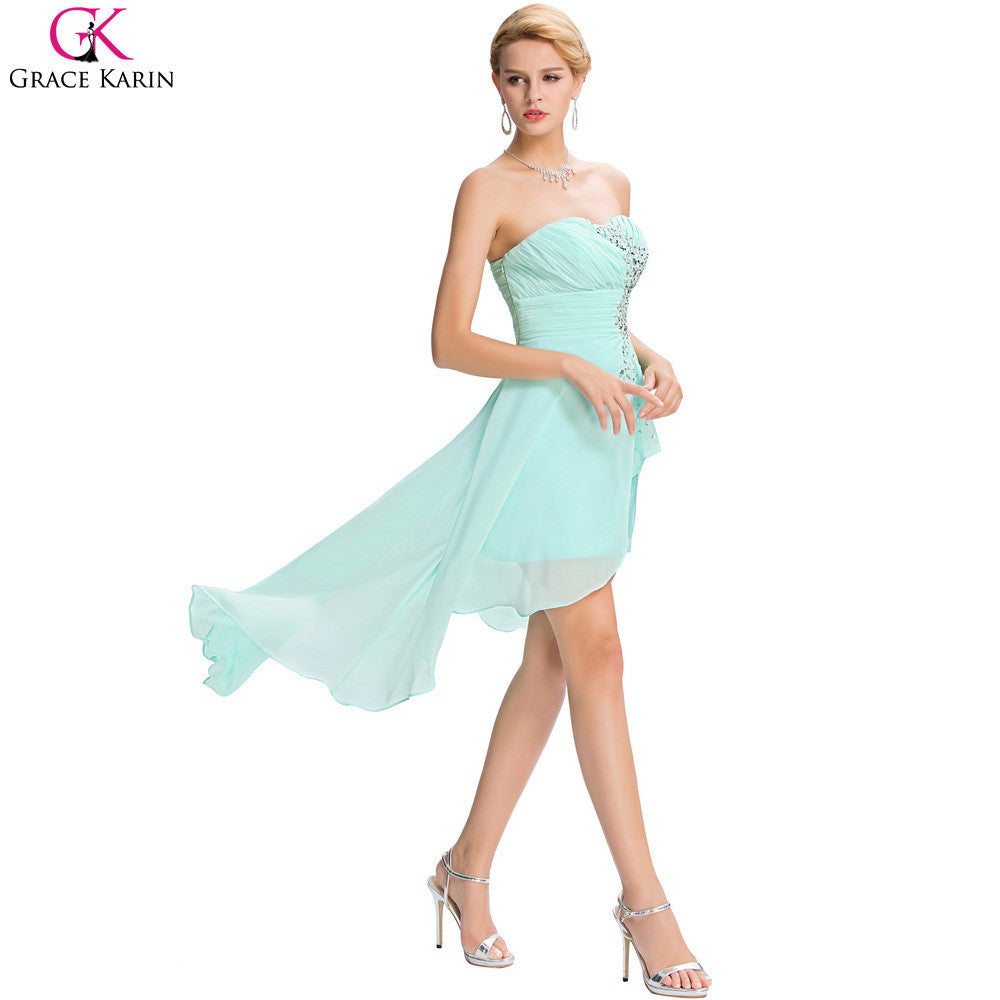 High Low Chiffon Dress