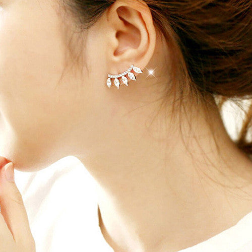Plated Stud Earrings
