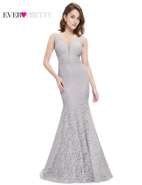 Best Seller! Lace V Neck Long Dress