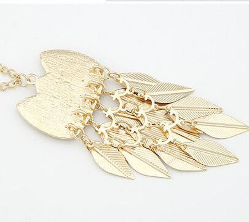 Vintage Gold Owl Necklace