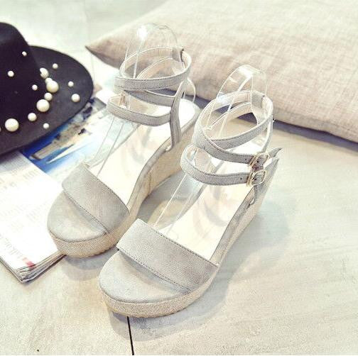 Thick Wedge Sandals