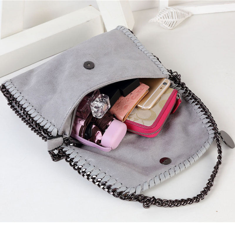 Designer Clutch with Chain Crossbody
