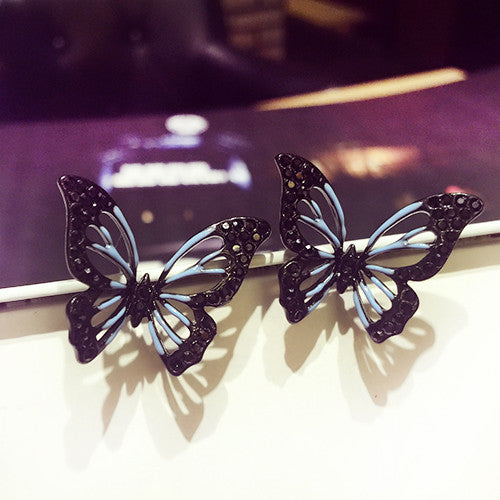 Big Butterfly Earrings