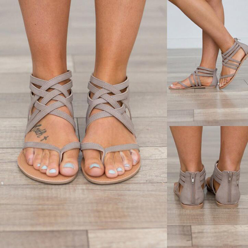 Gladiator Style Strap Sandals