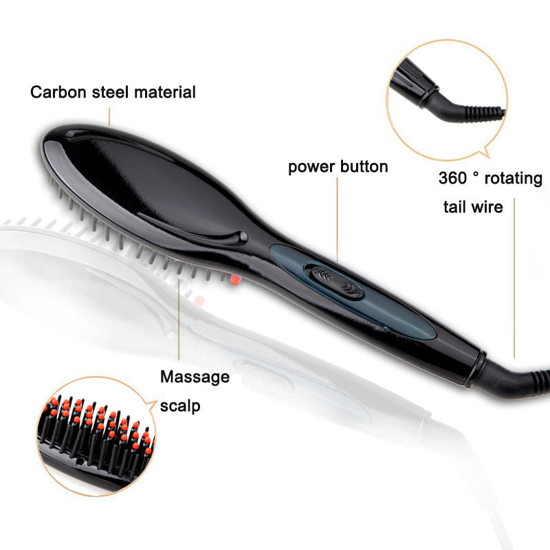 Straightener Electric Brush