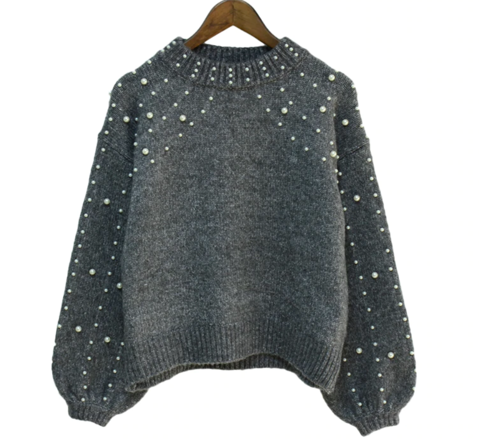 Beaded Sweaters with Lantern