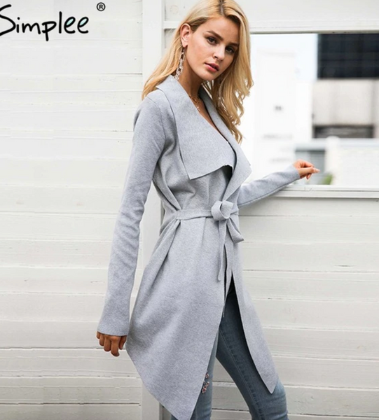 Cardigan Wrap Coat