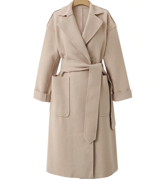 Casual Formal Wool Coat