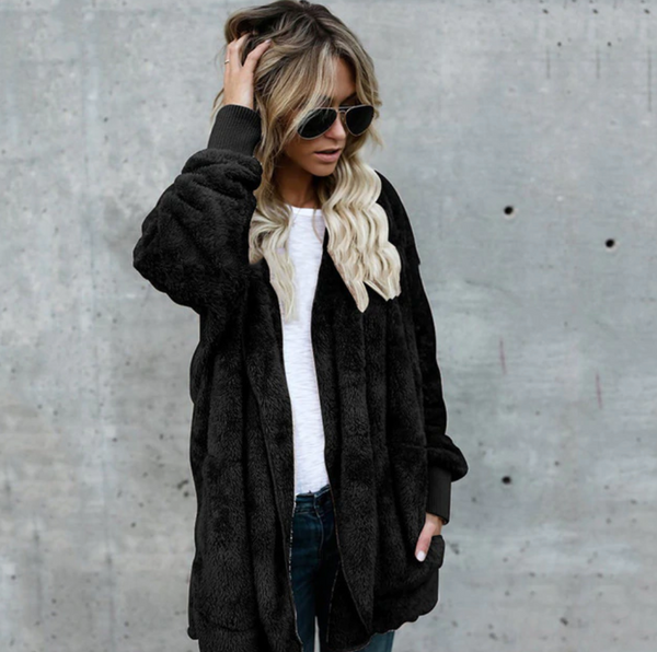 Fleece Cardigan