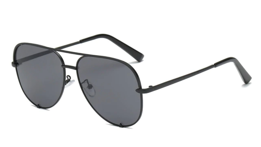 Gradient Metal Sun Glasses