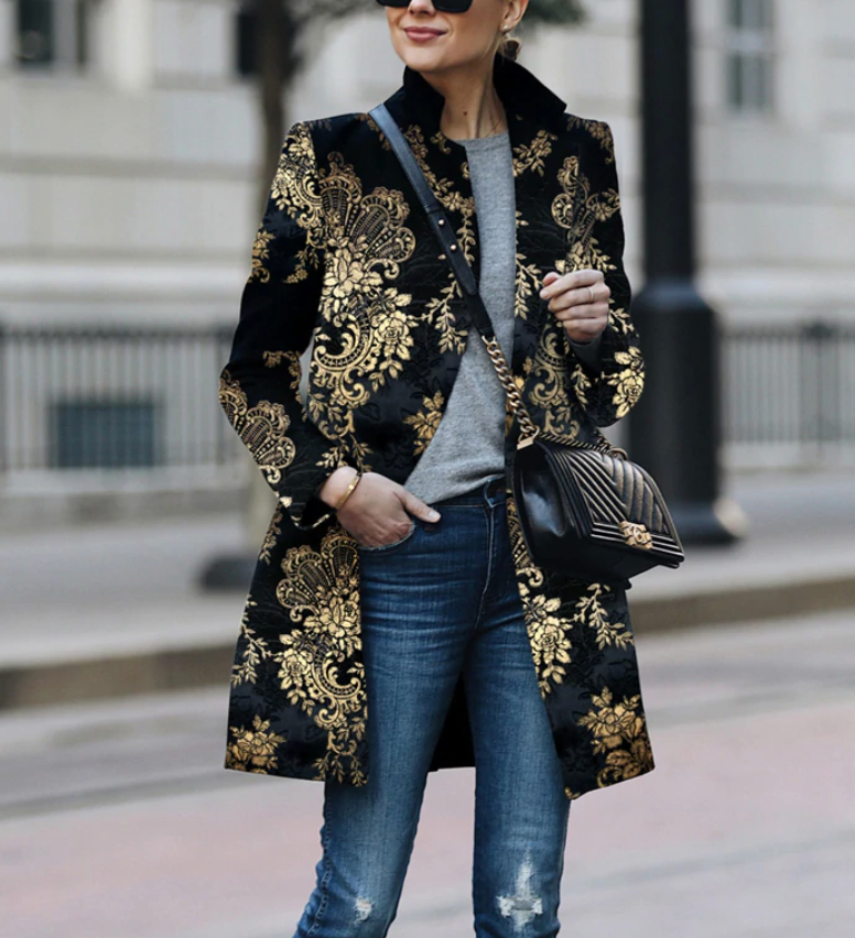 Printed Autumn Jackets