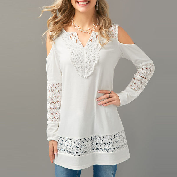 Cold Should  Long Sleeve Blouse