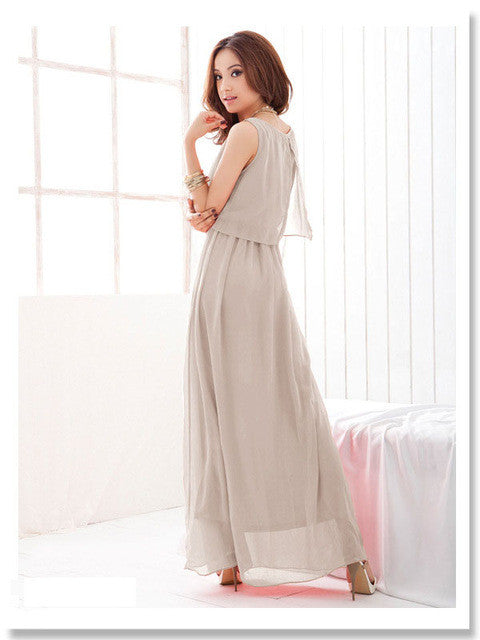 Chiffon Elegant Long Dress