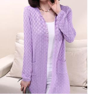 Knitted V neck Cardigan