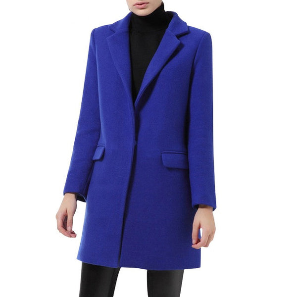 Slim Wool Coat