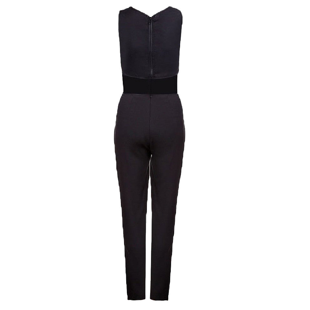 Backless Bodycon Jumpsuit