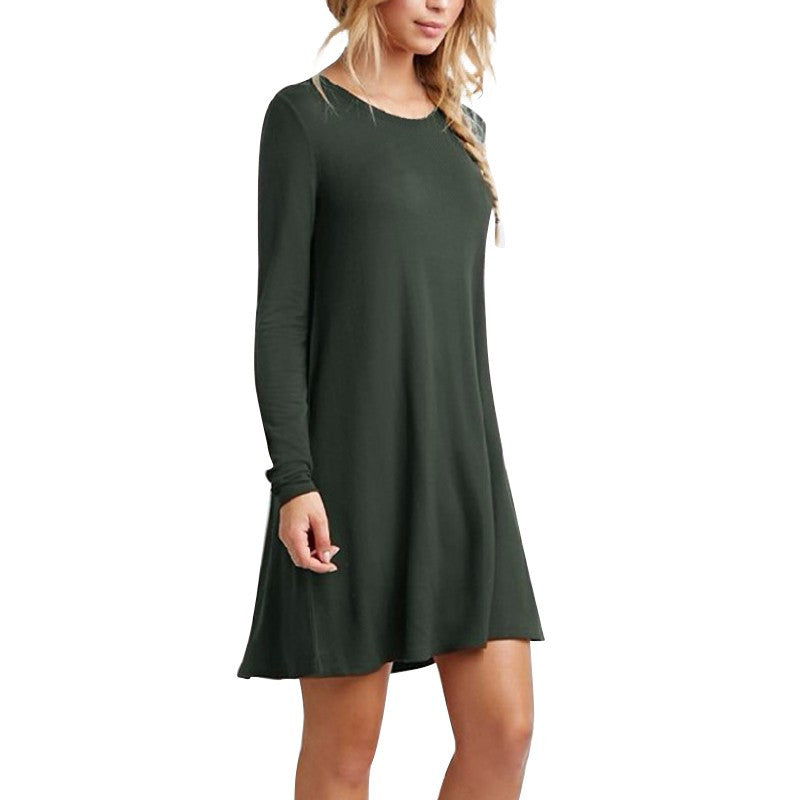 Long Sleeve Short Dress