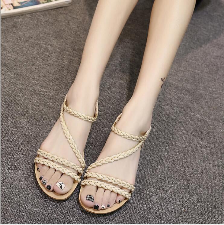 Breaded Style Sandals