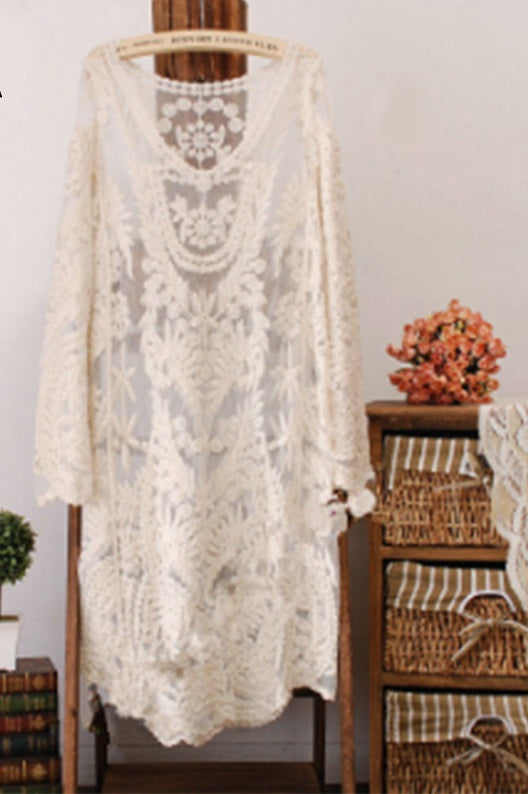 Best Seller! Lace Cover Up Dress